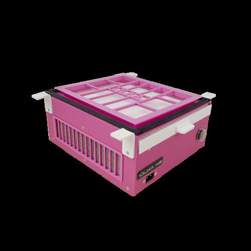 Вuilt-in dust collector for manicure ÜLKA X2VF pink
